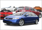 Felmark Car Rental Fleet