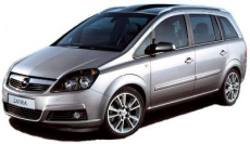 /20.06-31.08/Minivan.- Opel Zafira Wagon, 1.8 l (bensiin), 2012-2015, mahtuniversaal