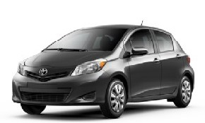 /20.06-31.08/Economy.-Toyota Yaris, 1.1 l (gasolene), 2012-2016, hatchback